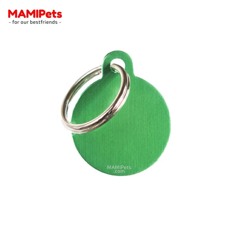 Targhetta - Medaglietta Cerchio Verde Piccolo